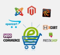 Shopping Carts We Work On - Opencart, Magento, WooCommerce....