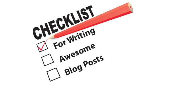 checklist-writing-blog-posts