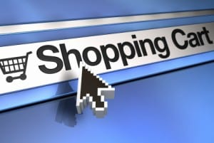 shopping cart url