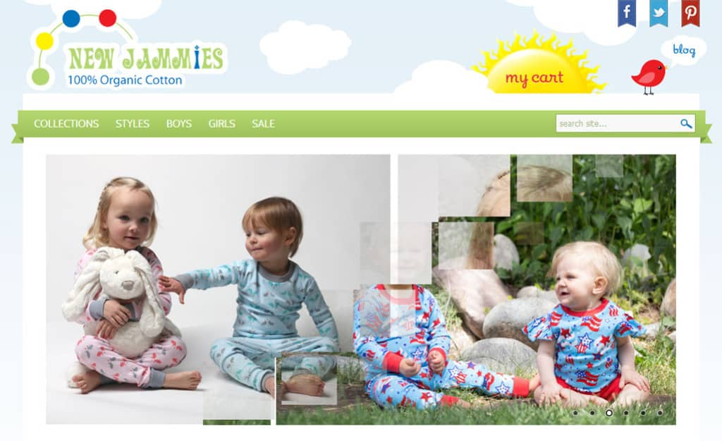 Web Design and Development Company | web development company | Opencart Web Design ForNew Jammies: Home Page